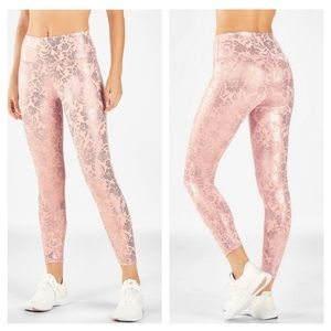 High-Waisted Printed PureLuxe 7/8
